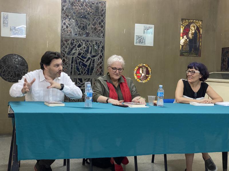 Miranda mantiene un encuentro con el Presidente de la Federación de Sociedades Galegas
