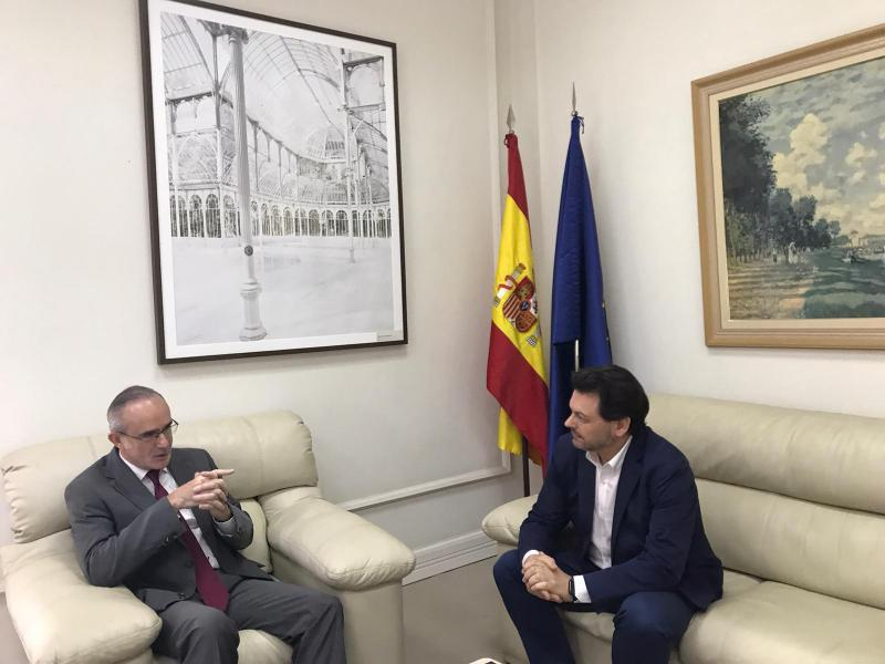 Miranda reúnese co Cónsul de España en Sao Paulo