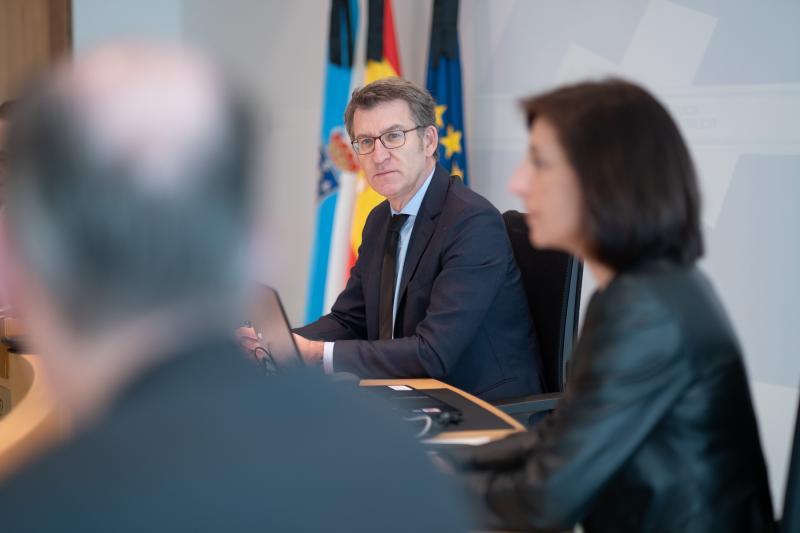 Reunión extraordinaria do Consello da Xunta de Galicia