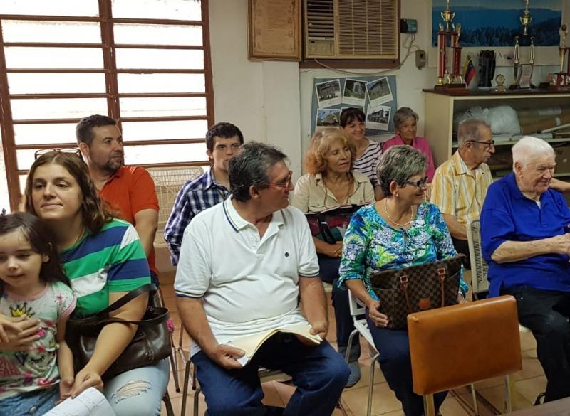 Imaxe de arquivo en Maracay durante unha xornada de reforzo de solicitude de medicamentos para galegas e galegos residentes en Venezuela