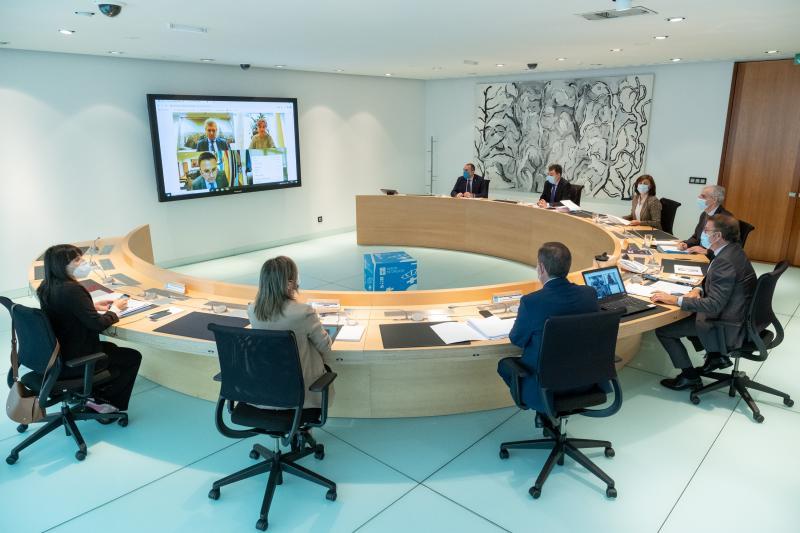 Imagen del Consello de la Xunta de Galicia celebrado este jueves