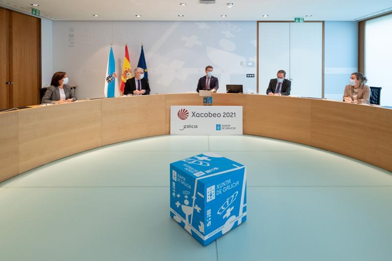 Imaxe do Consello da Xunta de Galicia desta semana