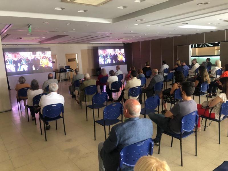 A retransmisión do inicio do Xacobeo 2021-2022 foi seguido por máis de 1.5 millóns de persoas en 33 países de todo o mundo