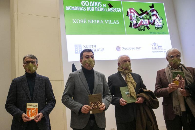 'Memorias dun neno labrego' es el libro escrito en gallego más traducido y editado