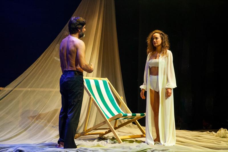 'O charco de Ulises'es la primera producción propia de la actual temporada del Centro Dramático Galego