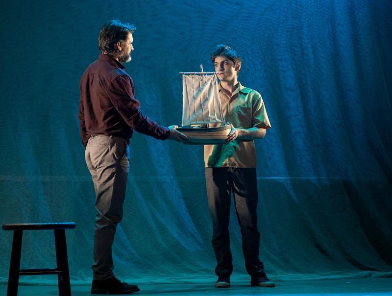 'O charco de Ulises'é a primeira produción propia da actual tempada do Centro Dramático Galego