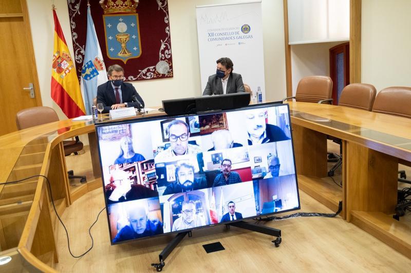 Imaxe da reunión da Comisión Delegada do CCG celebrada o pasado mes de decembro