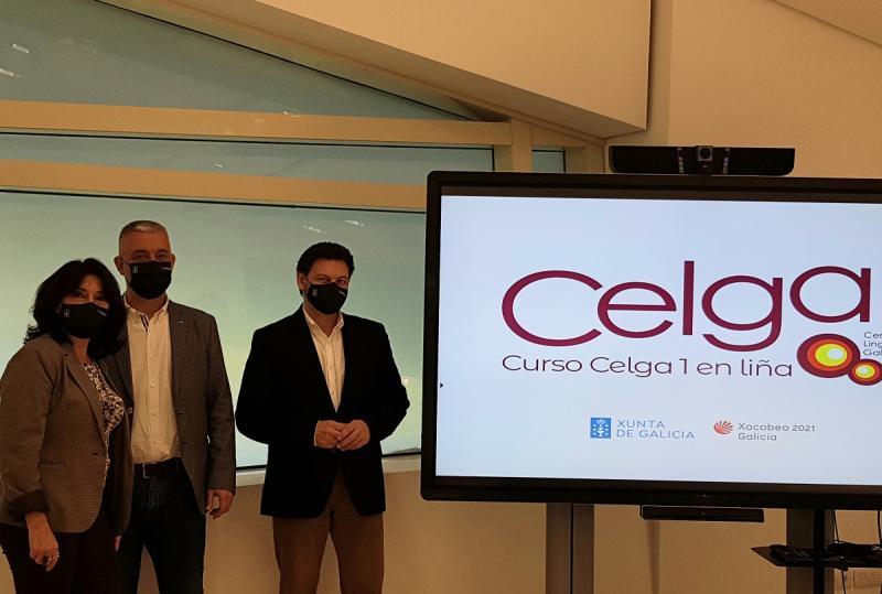 Imaxe da presentación desta mañá en Santiago de Compostela