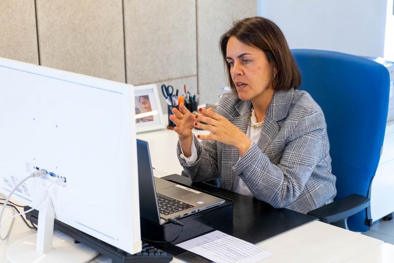 A directora da Axencia Galega de Innovación (Gain), Patricia Argerey, participou nun webinario sobre esta iniciativa que pretende atraer, incorporar e reter o talento de profesionais