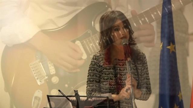Imaxe do espectáculo poético-musical 'Idioma da tinta'