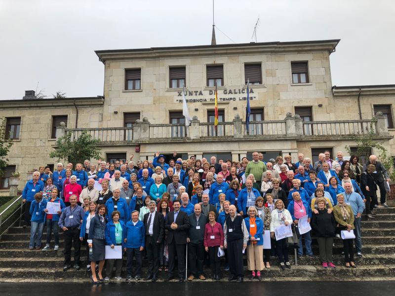 Emigración retoma el Programa de Reencuentros invitando a 150 gallegos de España y resto de Europa a participar en el Xacobeo