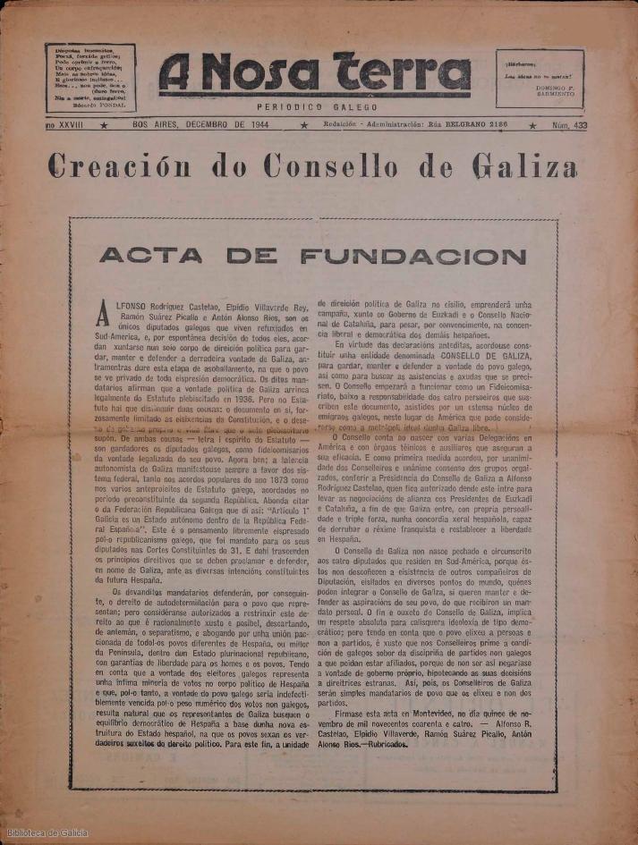 "Unha nova entrega do especial ""Historias de ida e volta"" documenta graficamente o exilio galego"