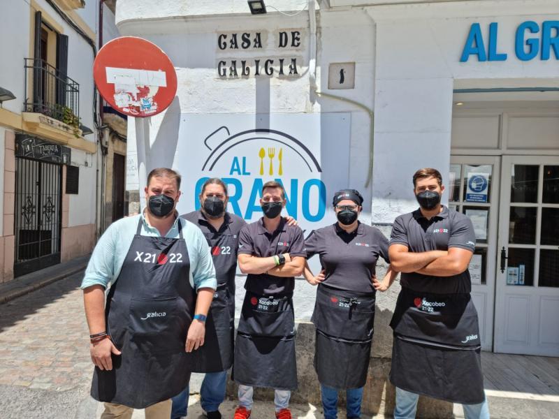 Imagen del restaurante de la Casa de Galicia en Córdoba