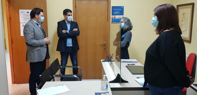 Imagen de archivo de la Oficina integral de asesoramiento y seguimiento al retorno de Ourense