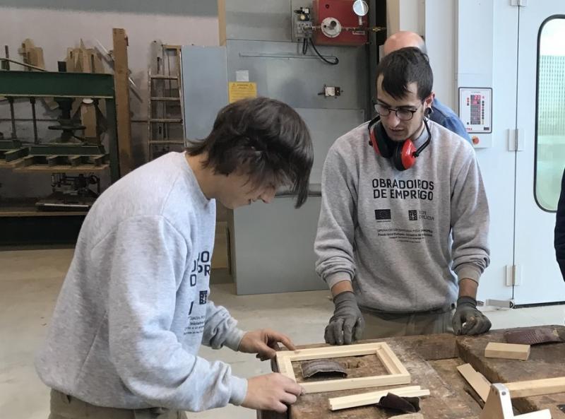 O programa de obradoiros duais de emprego é unha das preto de sesenta medidas que integran a Estratexia Galicia Retorna da Xunta de Galicia