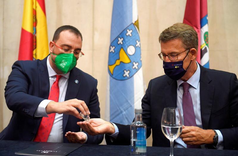 O presidente da Xunta participou esta tarde en Oviedo no acto organizado por esta asociación