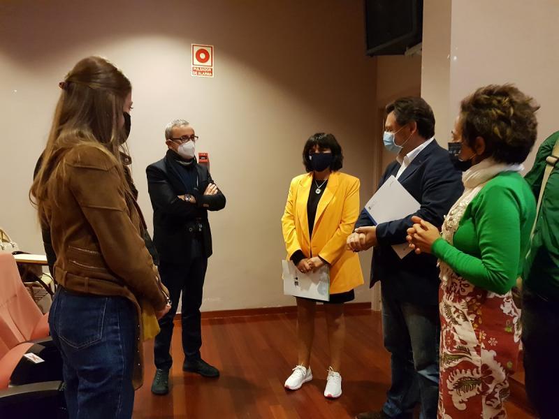 A xornada informativa celebrouse na Facultade de Humanidades do Campus de Lugo da Universidade de Santiago de Compostela
