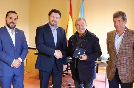 Palmiotti e Miranda reúnense para reforzar as relacións entre Galicia e Bos Aires