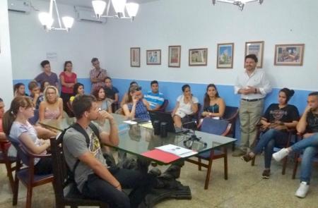 La juventud gallego-cubana se muestra también interesada en las 'Bolsas Excelencia'