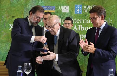 """Miranda afirma que a Galicia do exterior estará en """"permanente débeda"""" co presidente Albor"""