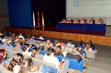 Miranda asina un novo acordo para a atención social e asistencial ás e aos galegos residentes en Venezuela
