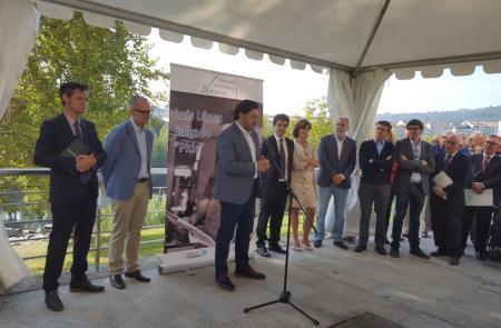 """O secretario xeral da Emigración asiste á homenaxe a Luis López Salgado """"Pitis"""""""