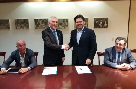 Miranda solicita a la Fundación España Salud (FES) que avance en el trabajo de carácter social para los gallegos de Venezuela