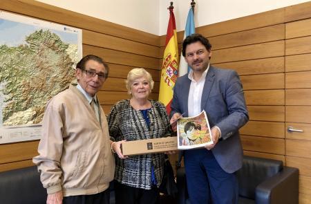 Miranda agradece o labor das entidades galegas no exterior como referentes da cultura de Galicia