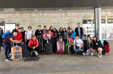 A Secretaría Xeral da Emigración recibe en Santiago ás e aos participantes da segunda quenda do Conecta con Galicia, procedentes de Arxentina