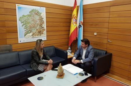 Miranda apoia o traballo que fai o empresariado galego do Uruguai en materia de formación e de proxección exterior de Galicia no país