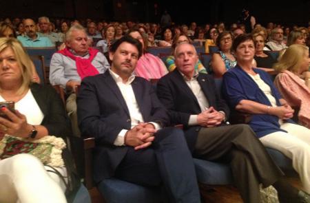 Miranda participa en el concierto que abre los actos del fin de semana del Día de Galicia en Asturias
