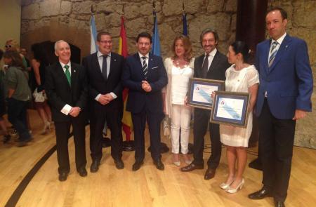 Miranda preside la entrega de insignias de oro de la Asociación del Día de Galicia en Asturias