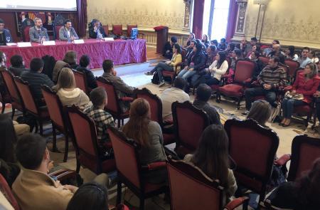 Miranda inaugura la jornada informativa de bienvenida a los cien beneficiarios y beneficiarias de la segunda promoción de las Bolsas Excelencia Juventud Exterior (BEME)