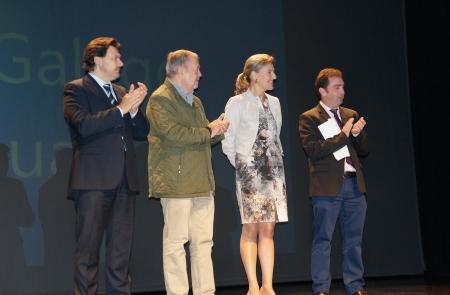 Miranda agradece al Centro Gallego de Ermua su labor en pro de los gallegos y gallegas del País Vasco en su cincuenta aniversario