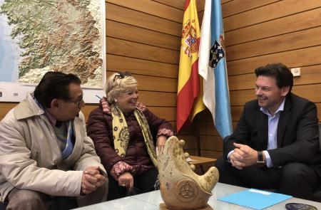 Miranda amosa o seu apoio aos galegos e galegas de Tarragona e anima ao seu centro galego a manter a súa intensa actividade