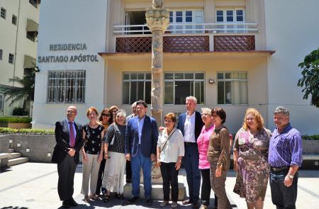 A Xunta visita a Sociedade Recreio dos Anciãos, considerada un referente na atención socio sanitaria na capital brasileira