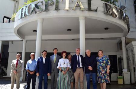 A Xunta coñece de primeira man o labor de asistencia sanitaria levado a cabo no Hospital Español de Río de Xaneiro