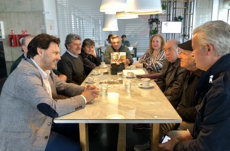 Miranda visita Mar del Plata para avanzar en el programa de actividades que convertirá la ciudad argentina en la capital cultural de la Galicia exterior de la mano de José Solla