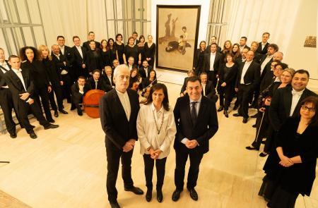 El Gaiás se llena con la música de los países de la etapa en el exilio y en la diáspora de Castelao con un concierto de la Filharmonía de Galicia