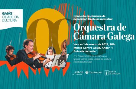 A Xunta despedirá a exposición 'Castelao maxistral' cun concerto da Orquestra de Cámara Galega na Cidade da Cultura o 1 de marzo