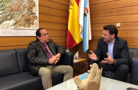 Miranda agradece o traballo do coordinador da Federación de Sociedades Galegas de Cuba en Santa Clara, que permite ao Goberno galego achegar os seus programas sociais a esta provincia