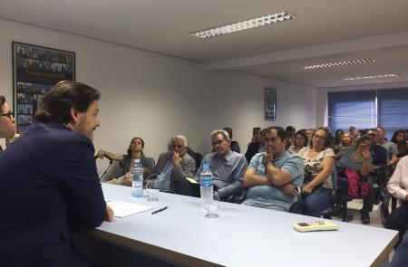 Miranda lleva las novedades de la Estrategia Retorna 2020 a las y los gallegos de tres de las principales ciudades del Brasil, el tercer país que registra más retorno a la comunidad