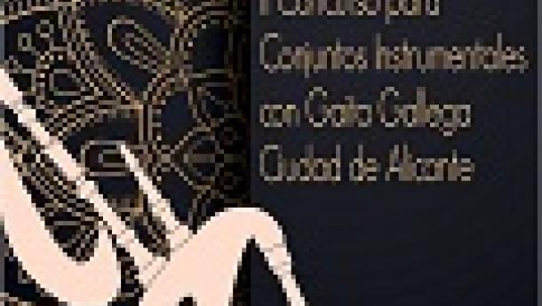"IIº Concurso para conxuntos instrumentais con gaita galega ""Ciudad de Alicante"" 2019"