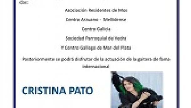 Xª Xuntanza de Gaiteiros/as - Concerto de Cristina Pato, en Mar del Plata