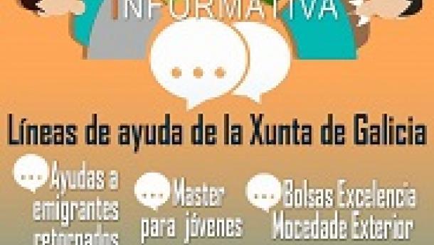 Charla informativa del secretario xeral da Emigración sobre las líneas de ayuda de la Xunta de Galicia, en Caracas