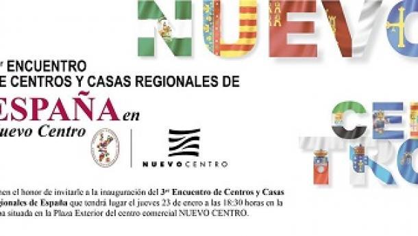 III Encuentro de Centros y Casas Regionales de España, en Valencia