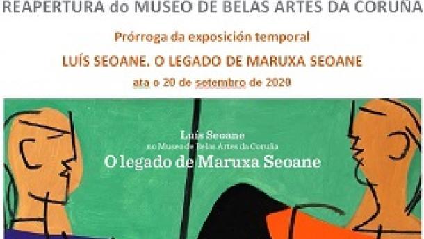 """Exposición """"Luís Seoane no Museo de Belas Artes da Coruña. O legado de Maruxa Seoane"""", na Coruña"""