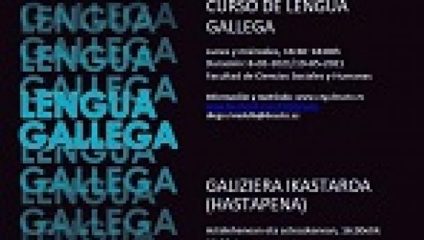 Curso práctico de lingua galega 2021, na Universidade de Deusto