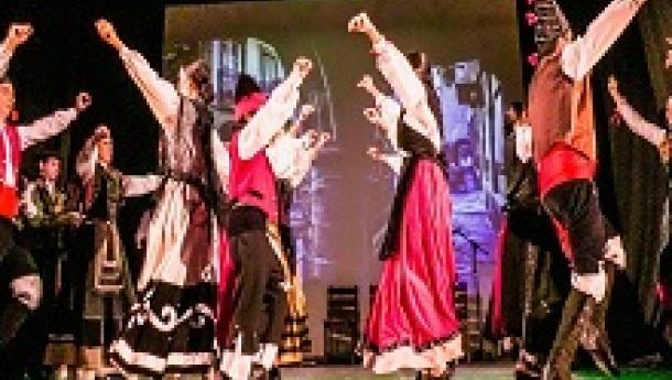 Clases de baile, canto e pandeireta galegos 2021 en Caballeros de Santiago de Salvador de Baía