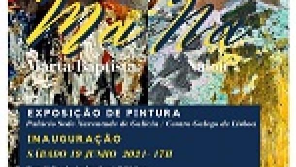 Exposición de pintura 'Ma Na', en el Centro Galego de Lisboa